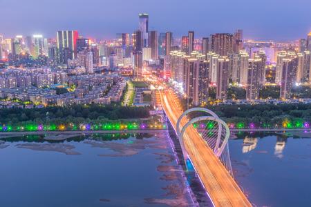 shenyang nightscape of China