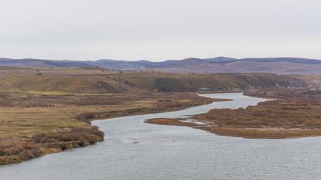 Chinese Inner Mongolia EerguNa Sino Russian border
