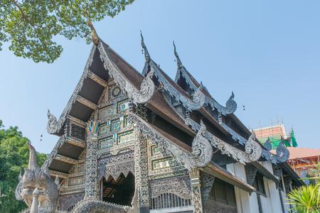 チェンマイ、タイのワット チェディ ルアン
