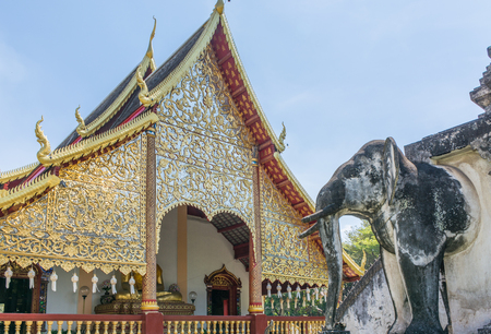 チェンマイ、タイのワット チェン マン