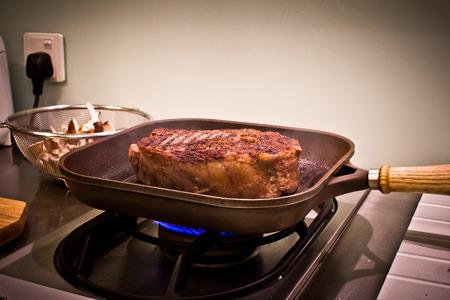 Cooking a Juicy Steak