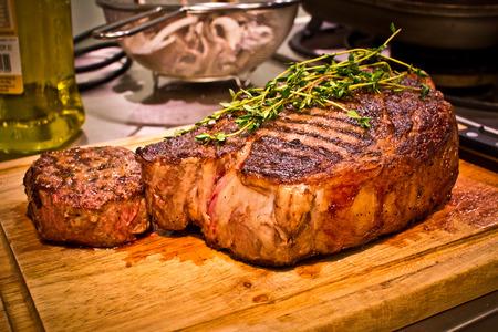Juicy Steak Close Up