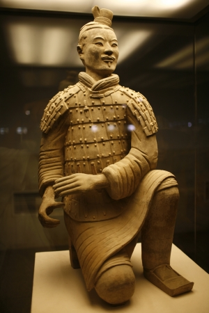terra: Museum of Terra Cotta Warriors Stock Photo