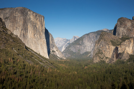 tunnel view: Tunnel View, Yosemite National Park, California, USA