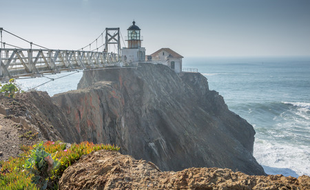 marin: Point Bonita Lighthouse, Marin Headlands, Golden Gate National Recreation Area