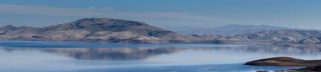 espejo: San Luis Reservoir, Merced County, California
