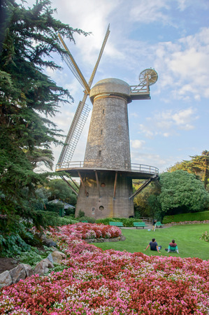 wilhelmina: Dutch Windmill, Queen Wilhelmina Garden, Golden Gate Park, San Francisco, CA