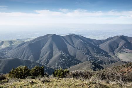 diablo: Northern California Landscape. Views from Eagle Peak, Mt. Diablo State Park