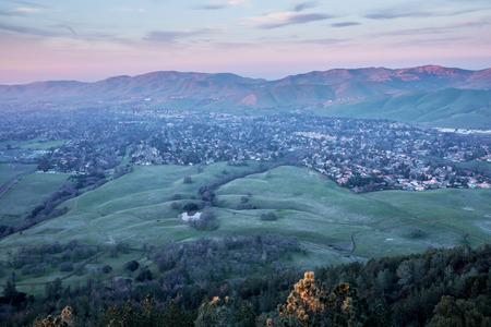 contra: Sunset at Mt. Diablo State Park, Contra Costa County, California