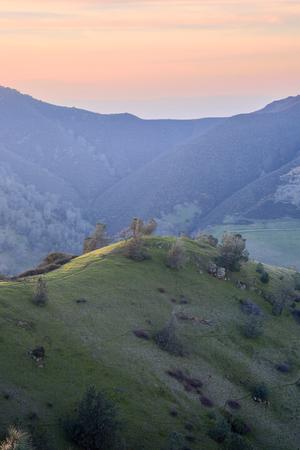 diablo: Sunset at Mt Diablo State Park, Contra Costa County, California