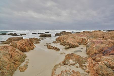 central california: Asilomar State Beach, Monterey Peninsula, Central California