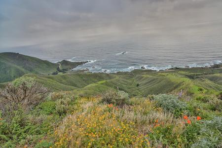 central california: Pacific Ocean from Garrapata State Park, Monterey Coast, Central California