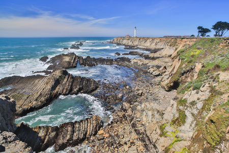 county: Point Arena Lighthouse, Mendocino County, California