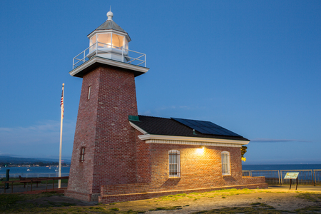 santa cruz: Lighthouse Field State Beach, Santa Cruz, California Stock Photo