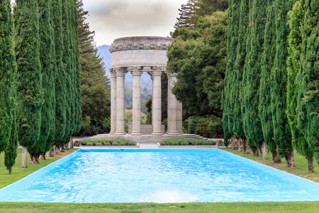 merchant: Pulgas Water Temple. Redwood City, San Mateo County, California, USA.
