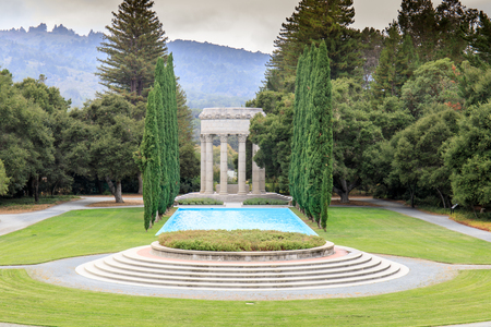 Pulgas Water Temple. Redwood City, San Mateo County, California, USA.
