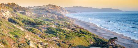Fort Funston Dunes and Coastline. San Francisco, California, USA. Stok Fotoğraf