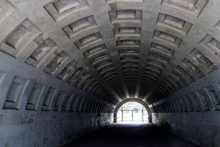 Pedestrian Tunnel at the Golden Gate Park in San Francisco Foto de archivo