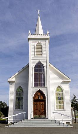 Saint Teresa of Avila Church. Bodega, California, USA.