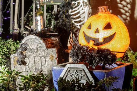 Halloween Decorations and Props Фото со стока