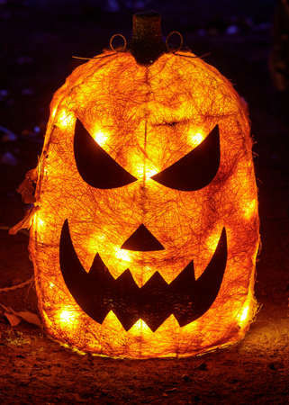 Electric Light-Up Jack O Lantern Glow in the Dark