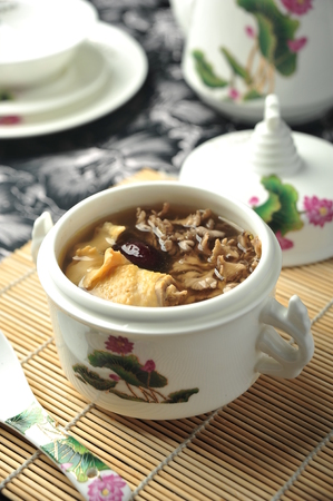 asian chinese style delicious soup