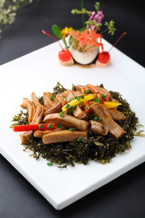 chitterlings: asian chinese style delicious food