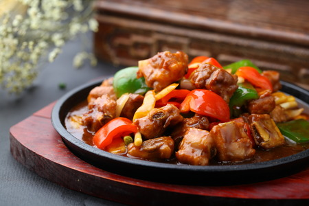asian chinese style delicious food
