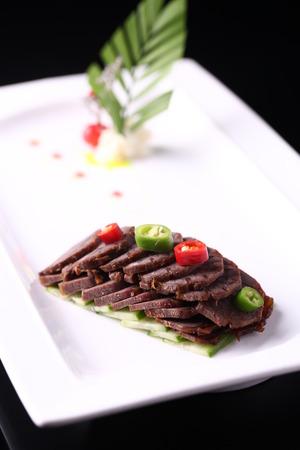 tendones: cocina occidental deliciosa comida