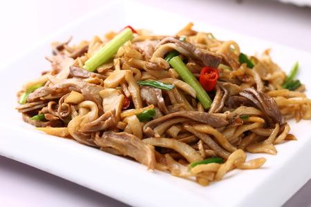 tripe: Bamboo shoots with fried pork tripe