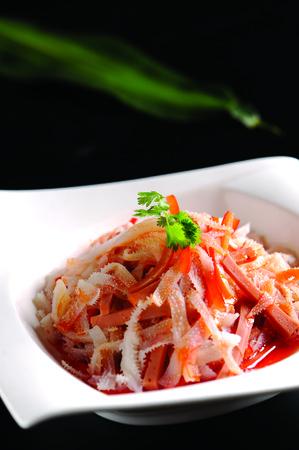 tripe: Tripe salad Stock Photo