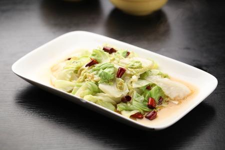 Fried Shredded cabbage Zdjęcie Seryjne