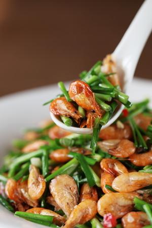 leek: Shrimp fried leek