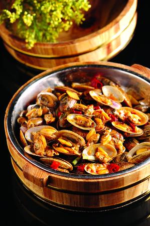 stir fried: stir fried clam