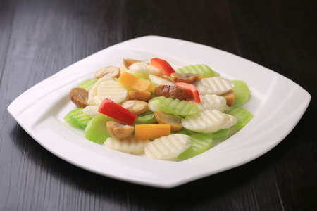wild yam: Raclette vegetables