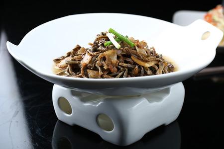 stew: Dry beans stew pork