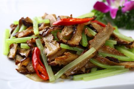 hunan: Hunan Valley Sauté sausage