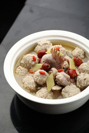 stew: Chicken stew meatballs