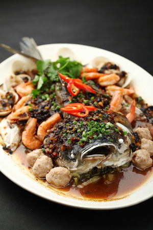featured: Featured steamed fish