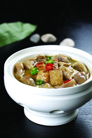 trotter: Trotter stew tofu
