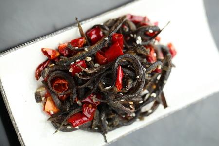 loach: chili fried loach