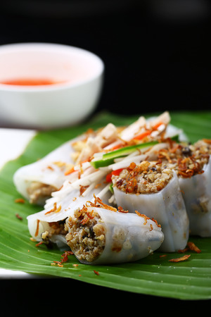 southern: Southern rice rolls Stock Photo