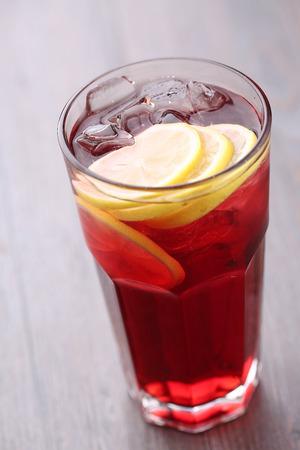 blackcurrant: iced Lemon  blackcurrant