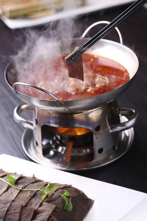 tripe: Tasty tripe in hot pot