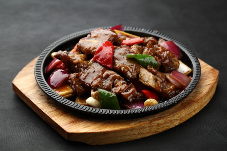 sizzling: sizzling Ribs