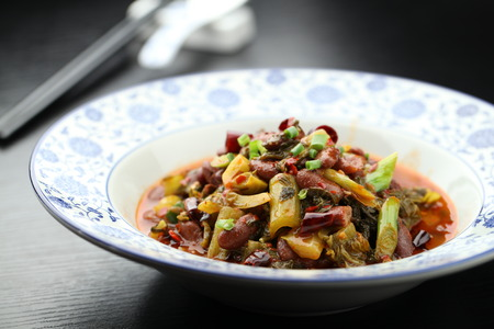 green beans: Chucrut estofado de jud�as verdes