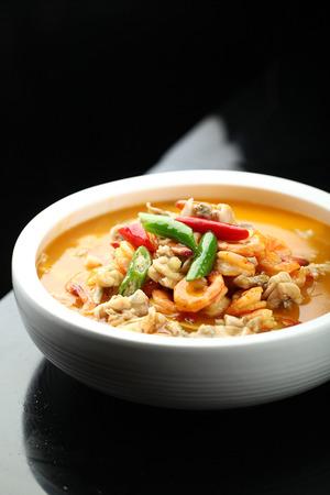 stew: seafood stew