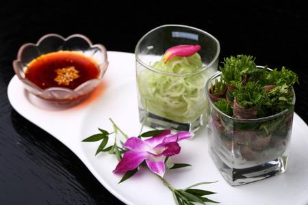 culantro: Rollo de carne de vacuno de cilantro