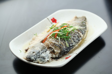 steamed: steamed fish