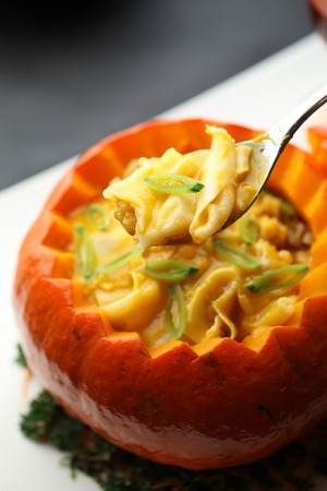 signature: Signature pumpkin bowl